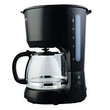 Igenix 1.25L Filter Coffee Maker - Black