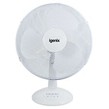 Igenix DF1610 16-Inch Desk Fan - White