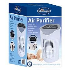 Silentnight 38060 Air Purifier with 3 Filters