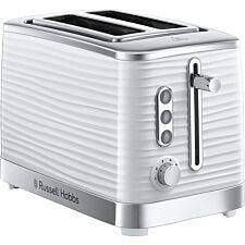 Russell Hobbs Inspire 2-Slice Toaster - White