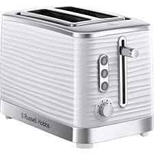 Russell Hobbs 24370 Inspire 1050W 2–Slice Toaster – White