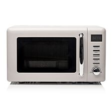 Haden Cotswold 800W 20L Microwave – Putty