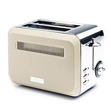 Haden Boston 2-Slice Toaster - Cream