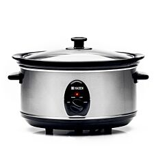 Haden 4.5L Slow Cooker - Silver