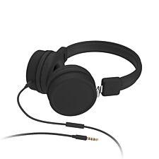 Kitsound Brooklyn Headphones - Black