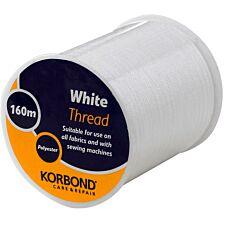 Korbond 160m Thread - White