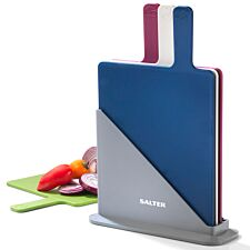 Salter Multi-Coloured Chopping Board - Set of 4