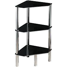 Premier Housewares 3 Tier Corner Unit - Black