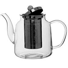 Premier Housewares High Borosilicate Teapot - 1L