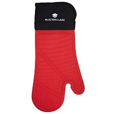 MasterClass Seamless Silicone Oven Glove - Red