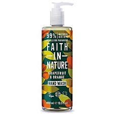 Faith In Nature Grapefruit and Orange Hand Wash - 400ml
