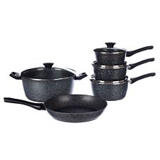 Salter Megastone 5-Piece Pan Set
