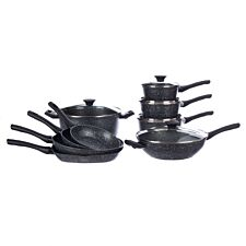 Salter Megastone 9-Piece Pan Set