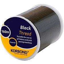 Korbond 160m Thread - Black