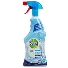 Dettol Power & Pure Antibacterial Bathroom Spray - 750ml