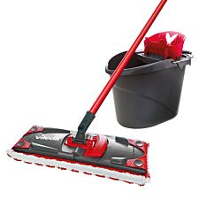 Vileda Ultramax Mop and Bucket Set - Grey