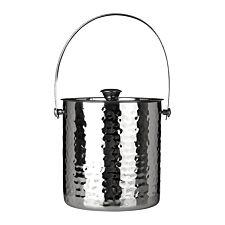 Premier Housewares Ice Bucket - Stainless Steel