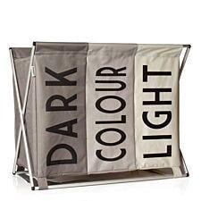 Sabichi Lights, Darks & Colours Foldable Laundry Basket