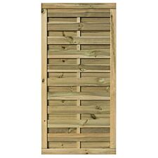 Rowlinson 3x6 Wooden Gresty Screen Gate