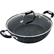 Scoville 28cm Non-Stick Shallow Casserole Dish with Glass Lid