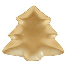 Gold Tree Display Plate