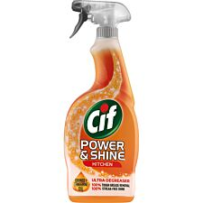 Cif Power & Shine Kitchen Spray - 700ml