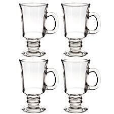 Premier Housewares Irish Coffee Glasses - Set of 4