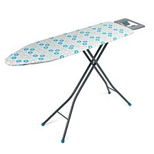 Beldray 137 x 38cm Ironing Board - Blue Retro Floral Print