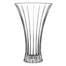 RCR 30cm Timeless Crystal Vase - Clear