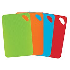 Multi-coloured Chopping Boards - Set of 4