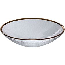 Premier Housewares Clear Glass Bowl