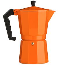 Premier Housewares 9-Cup Espresso Maker - Orange