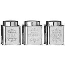 Premier Housewares Chai Canisters - Set of 3