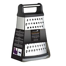 MasterClass Stainless Steel Four Sided Grater