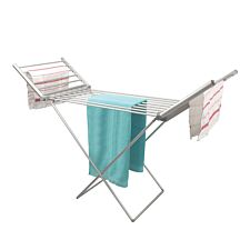 Quest 18 Bar Electric Heated Winged Clothes Airer