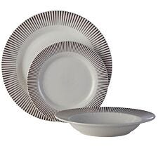 Premier Housewares 12-Piece Avie Spoke Dinner Set