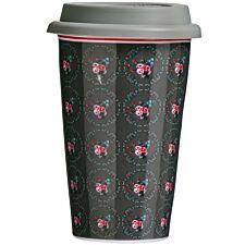 Premier Housewares Ditsy Travel Mug