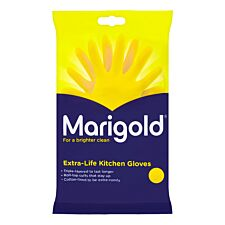 Marigold Extra-Life Kitchen Gloves - Yellow