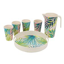 Cambridge Kayan Bamboo Eco-Friendly Tableware Set - 6 Piece