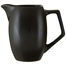 Premier Housewares Ceramic Milk Jug - Black