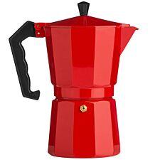 Premier Housewares 9-Cup Red Espresso Maker