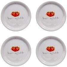 Premier Housewares Italia Pizza Plates - Set of 4