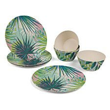 Cambridge Kayan Bamboo Eco-Friendly Tableware Set - 8 Piece
