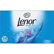 Lenor Spring Awakening Tumble Dryer Sheets - Pack of 34