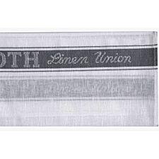 Le Chateau Linen Union Glass Cloth - Grey