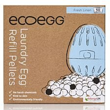 Ecoegg Fresh Linen Laundry Egg Refill Pellets - 50 Washes