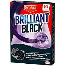 Dylon Brilliant Black Laundry Sheets - Pack of 10