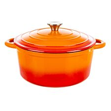 Robert Dyas Cast Iron Casserole Pan - 26cm