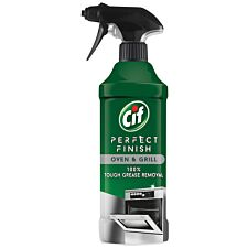 Cif Perfect Finish Oven and Grill Spray Cleaner - 435ml