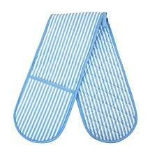 Blue Stripe Double Oven Glove